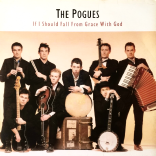 Pogues (The) - If I Should Fall From Grace With God (LP) (G/VG-)